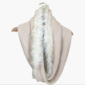 CAbi Faux Fur Twist Infinity Scarf